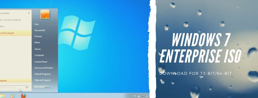 Download Windows 7 Enterprise Free ISO