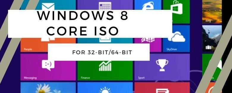 Download Windows 8 Core ISO Free