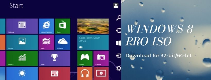 Download Windows 8, 8.1 Pro ISO
