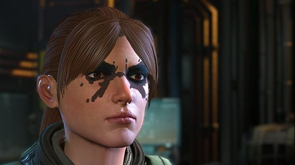 Multiple face paints for characters