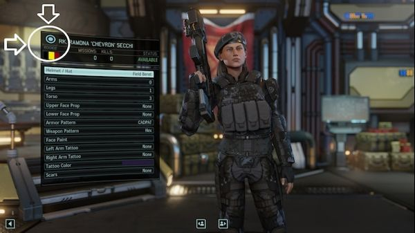 Customize your characters