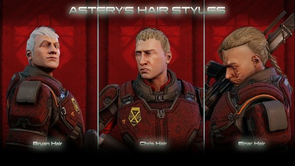 Change male hairstyles