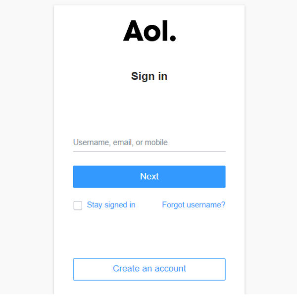 AOL for Windows Users