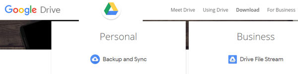 Download Google Drive for Personal and commercial use