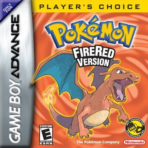 Pokemon Firered version for GBA