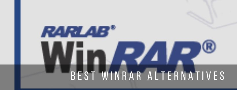 5 best alternatives to WinRAR file archiver